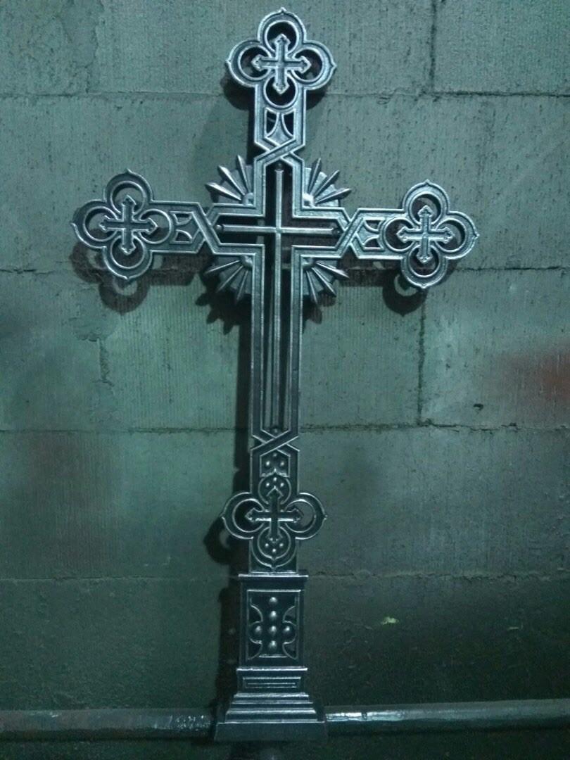 Чугунный крест (комплект)