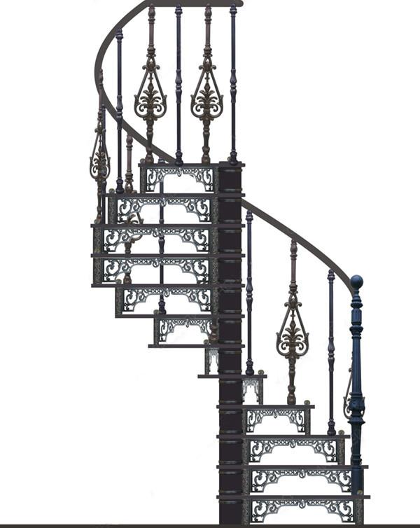 Винтовая лестница №10