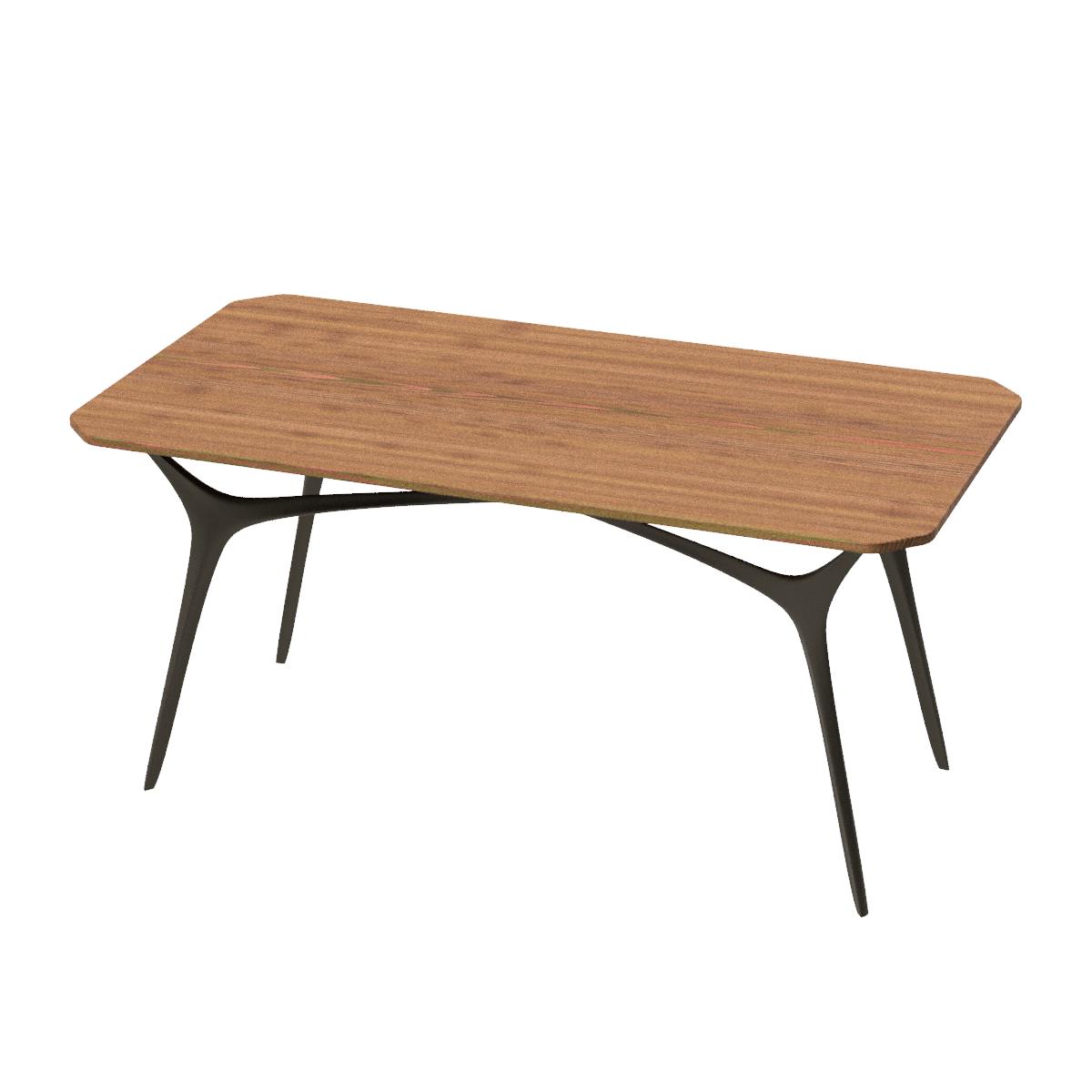 Обеденный стол в стиле лофт