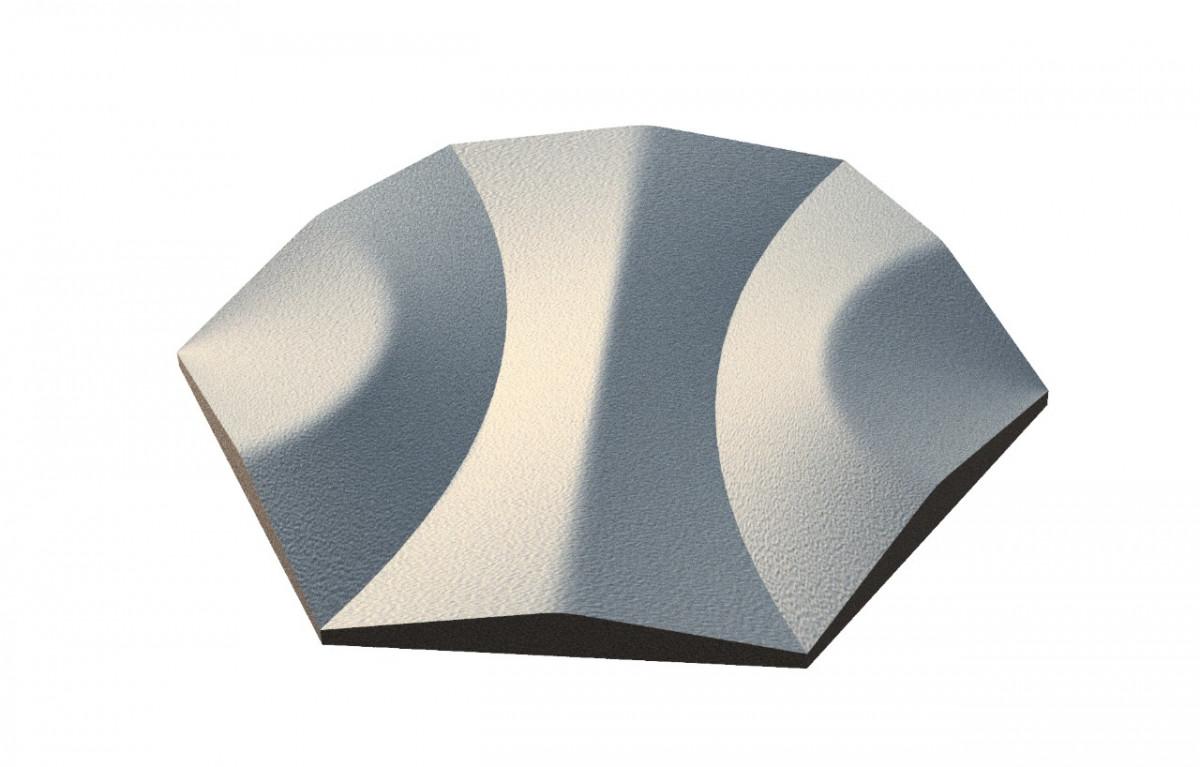 Чугунная плитка-пано