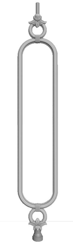 Чугунная балясина №58