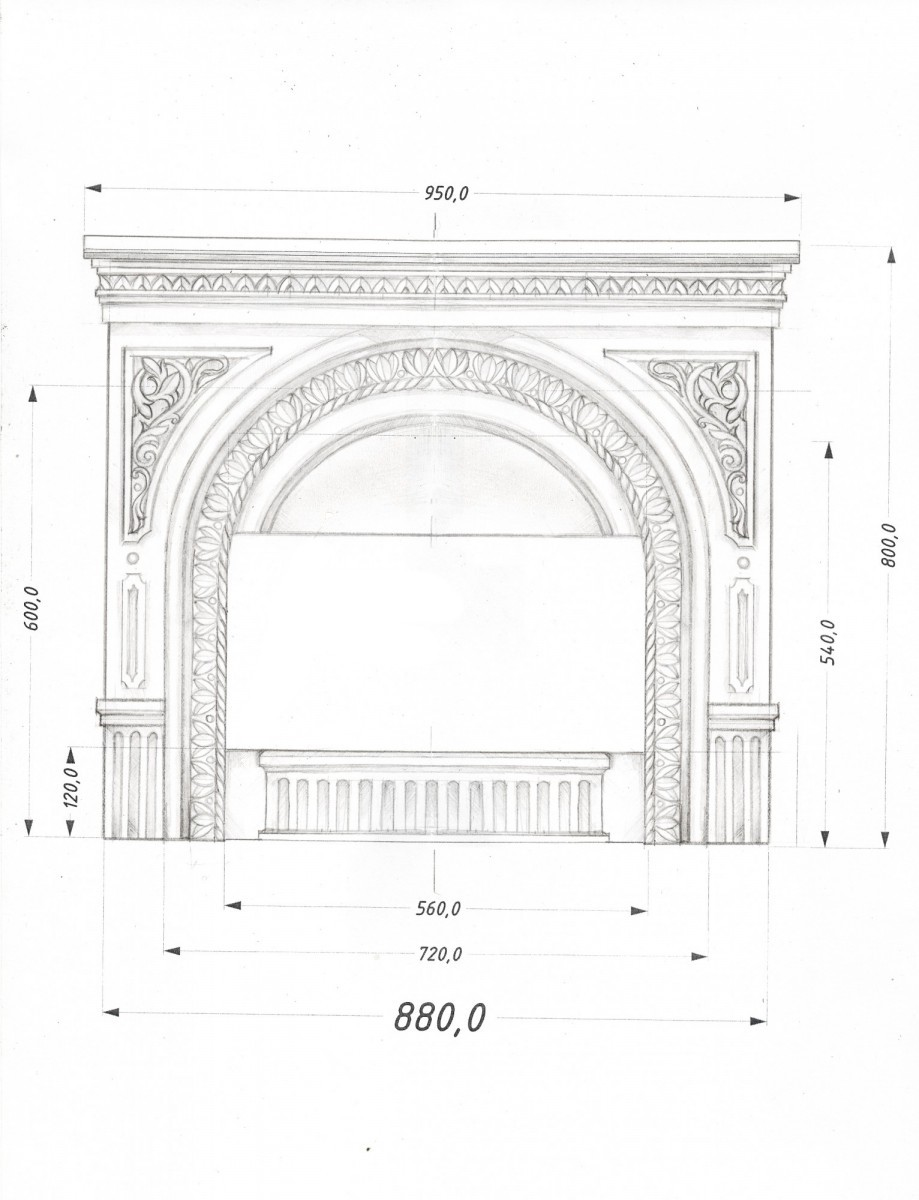Чугунный портал №2