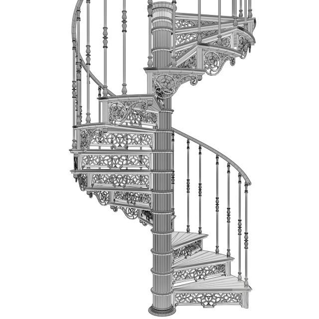 Винтовая лестница №2