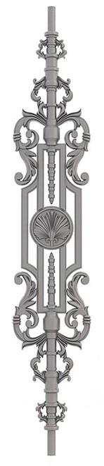 Чугунная балясина №36